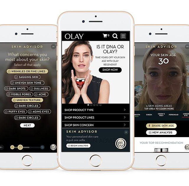 olay skin analyzer