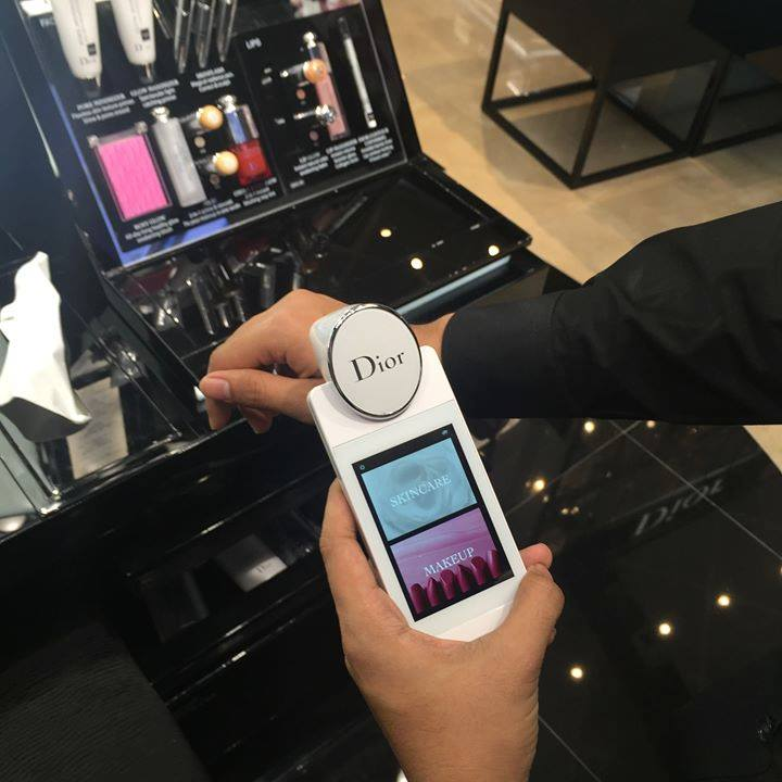 dior skin analyzer