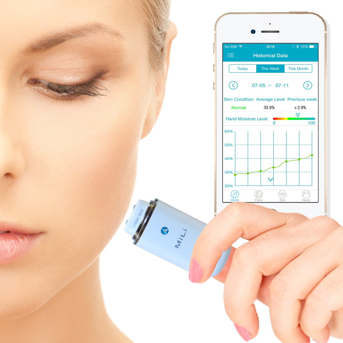 portable skin analyzer