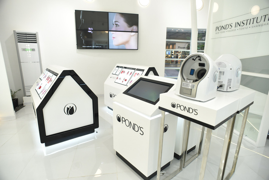 ponds skin analyzer