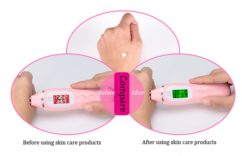 skin hydration analyzer