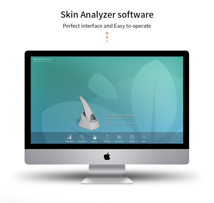 sam skin analyzer machine